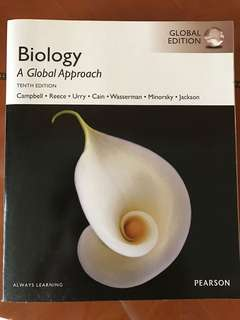 Pearson-Biology: A Global Approach 10th Edition