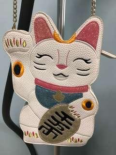 Skinny Dip Fortune Cat Bag