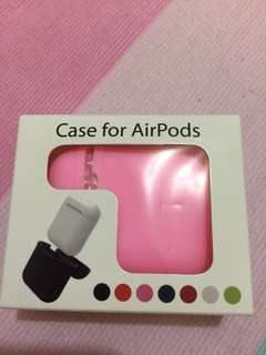 Silicon pink case for AirPods