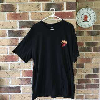 Obey Rose Logo Tee NEW