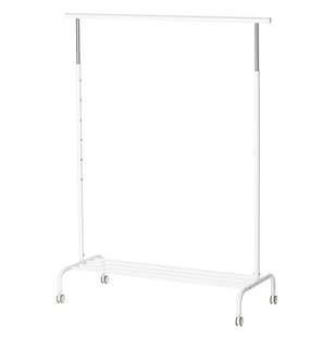 IKEA RIGGA clothes rack 衣架