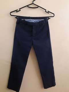 H&M Navy Blue Slacks