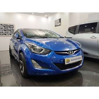 Hyundai ELANTRA 1.6 AT ABS D/AB 2WD 4DR