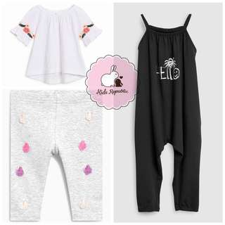 KIDS/ BABY - Blouse/ Leggings/ playsuit