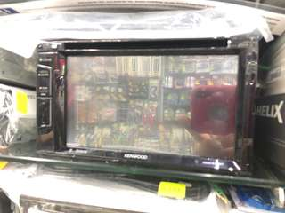 Used Kenwood DVD player from new car