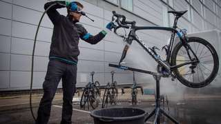 Basic bicycle cleaning