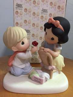 Buy 3 Get 1 Free : Precious Moments Proposing Couple Figurine : With a smile and a song