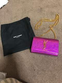 Authentic Saint Laurent YSL small kate bag