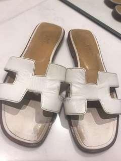 Hermes H Sandals