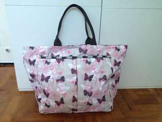 Brand new authentic Lesportsac Primrose Deluxe Everygirl Large tote bag