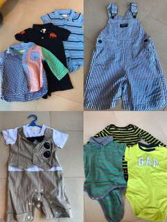 Preloved baby boy clothes (authentic)