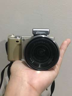 Sony NEX 5 Gold Special Edition - Mirrorless