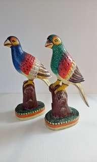 Pajangan sepasang burung cantik