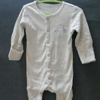 Mothercare Long Sleeve Romper