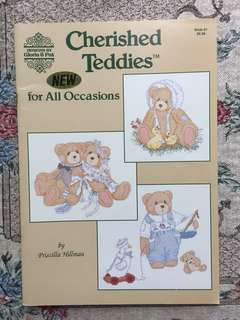 Cherished Teddies For All Occasions Cross Stitch Book
