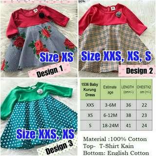 BN Baby Baju Kurung Dress