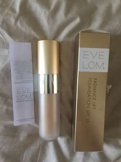 Eve Lom radiance lift foundation spf15