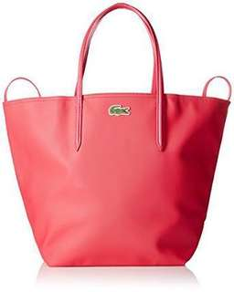 Lacoste Tote Bag - Natural Pink