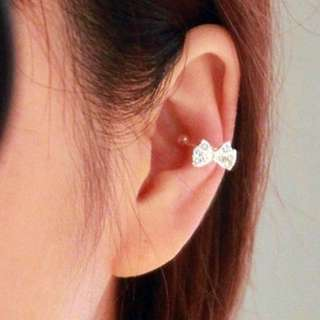 bone clip earing