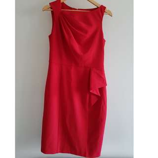 Review Dress Red