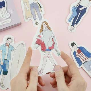 (PO) Everyday Look Postcards/ Post Cards