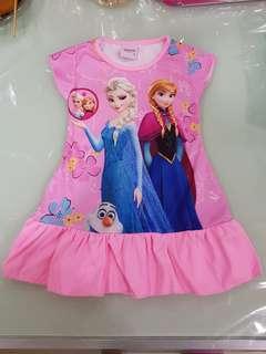 [New] Frozen Dress PJ new