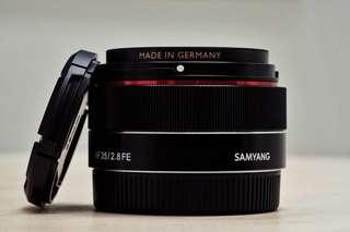 Samyang 35f/2.8 fe lens Sony Mount