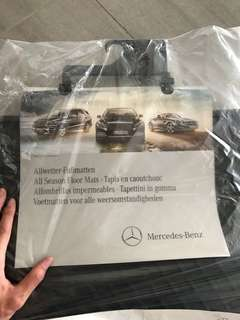 🚚 賓士腳踏墊Mercedes-Benz foot pad