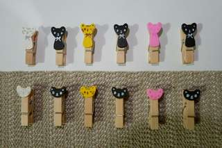 Wooden Clothespin (12 pcs.)