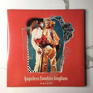 Halsey | Hopeless Fountain Kingdom Vinyl (Clear + Teal Edition)