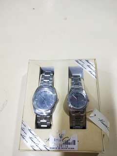 Kenneth Cole couple watch