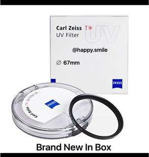 Zeiss 67mm UV Filter