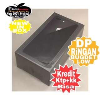 IPhone 8 Plus 64GB New Original Cash/kredit Dp 4jt ditoko ktp+kk Wa;081905288895