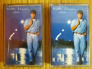 "Martin Nievera ""Roads"" Album Cassette Tape Bundle"