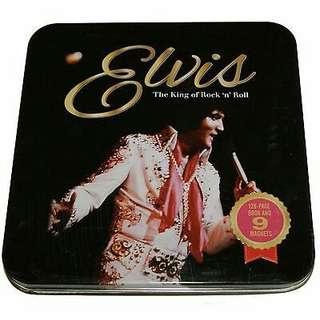 Elvis Collectors Set - Book & Magnets .