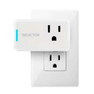 iSELECTOR Smart Plug just like TP Link HS105 works w/ google home mini & amazon echo dot alexa