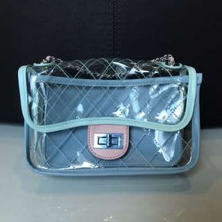 Chanel inspired pvc candy bag