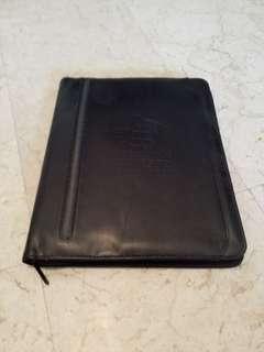 Leather work folder