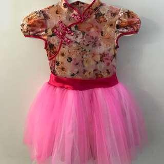"Pink Tutu Dress size ""S"""