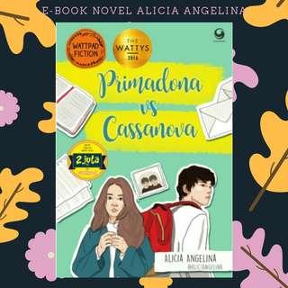 E-BOOK PDF NOVEL PRIMADONA VC CASSANOVA