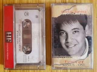 """Martin Nievera """"Forever"""" Album Cassette Tape Bundle"""