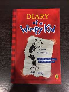 Diary Of A Wimpy Kid Books 1-6