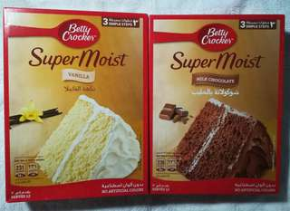 Betty Crocker Super Moist Cake 500g