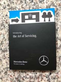 Mercedes-Benz Memo pad