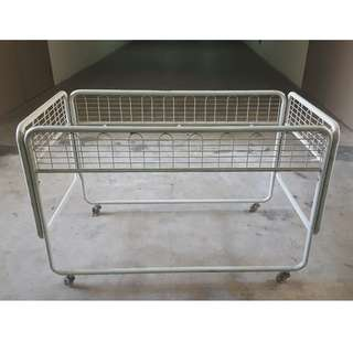 clothes racks and wagon for sale