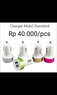 Charger Mobil Standar 2A, 1A