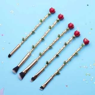 Beauty and the Beast Makeup Brush set