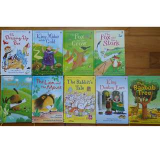 9 for $18 Usborne books 3-7 years old
