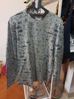 Long sleeve shirt GIORDANO disney edition