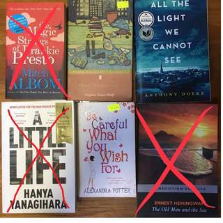 Free, used books (read description) #Blessing